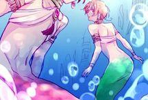 Hetalia AU: Mermaid