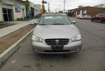 Used 2000 Nissan Maxima for Sale ($3,499) at Paterson, NJ / Make:  Nissan, Model:  Maxima, Year:  2000, Body Style:  Tractor, Exterior Color: Gold, Vehicle Condition: Excellent,  Mileage:140,000 mi, Engine: 6Cylinder 3.0L V6 DOHC 24V, Fuel: Gasoline Hybrid, Transmission: Automatic.   Contact;973-925-5626   Car Id (56649)