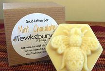 Beeswax Creations / We use everything the bees give us! Including the beautiful beeswax to create lotions, lip balms and candles!