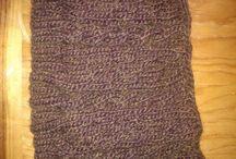 Bordados y tejidos / Gorros de invierno (algunos míos), suéteres, guantes, bufandas,  blusas y puntadas.