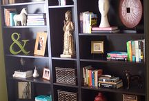 Bookcase arranging