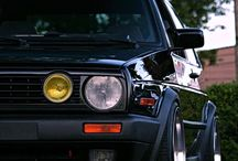 Golf Mk2 / VW / by Pepe Sabanero