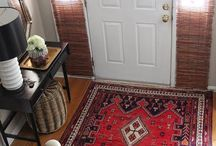 Rugs in Your Entryway / Rugs can add warmth, a sense of coziness and a welcoming feel to an entryway.