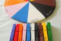 Activities to help children with colors