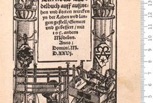 16th C German Modelbuchs / These links to Modelbuchs are not every page that is available, but a few I liked. See the source for more.