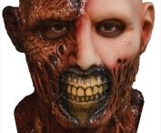zombie and horror mask