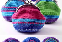 crochet bags and purses / bolsos y monederos