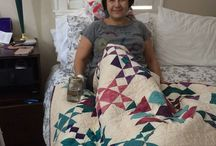 Instagram https://www.instagram.com/p/BSEpoPbjbaa/ March 25, 2017 at 03:22PM #kneesurgery Happy at home with #healing #quilt