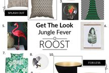 Jungle Mania / The jungle trend is a huge look for interiors in 2016. Here's how to do it.