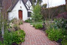 Hermosillo Montecito Cottage / Cottage redesign landscape with natural elements.
