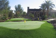 Golf Grass for the Golfers / Golf Greens and synthetic turf for the golfers.