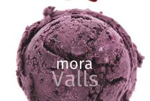 Sorbets Valls I Carta de Sabors / Els sorbets elaborats pels nostres experts gelaters són molt baixos en greix i tenen el màxim de fruita natural. No contenen cap component al·lergogen, lactosa, ni conservants.