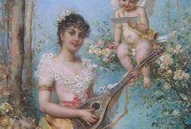 Женские образы в живописи.