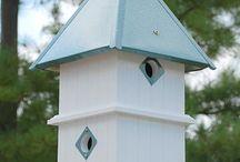 Fuglekasser og insektshotell