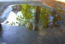Városi tükröződések02 & City mirrors02 / Budapesti objektumok kis víztükörben