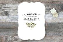 Save the Dates/ Invites