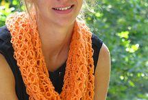 crotchet scarves