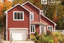 LP CanExel UltraPlank Lap Siding / Discover some of the many looks you can achieve with LP® CanExel® UltraPlank™ prefinished siding.
