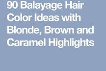 balayage ideas