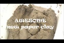 Paperclay, Technical etc