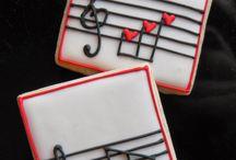 Músicas bolachas decoradas