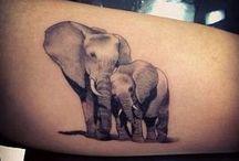 Tatovering Elefant