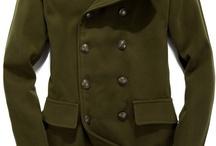 army kabáty