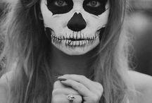 Face painting - Skulls & Sugar skulls