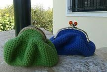 Handmade knitted - Chrochet Bags and Purses