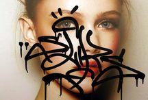INSPO    Public Art + Graffiti / - street art -