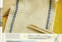 Tessitura x me / Schemi, foto ed esempi di tessitura a mano