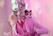 Beautiful Cat Ladies / Models/fashion shoots with cats
