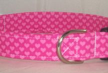 Valentine's Day Dog Collars / Valentine's Day martingale dog collars or buckle dog collars / by Buddy and Friends