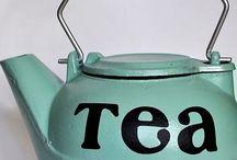 tea and pot,cup