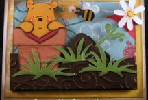 Cricut Pooh & Friends / The cartridge includes: Layer 1/Layer 2, Layer 3/Layer4, Icon, Icon Square/Circle, Base/Icon, and Blackout creative features. / by Melanie Lewis