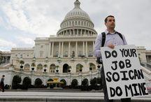 Paralizado el Gobierno de EEUU  / Falta de acuerdo presupuestario en el Congreso, entre republicanos y demócratas, empujó a Estados Unidos al primer cierre parcial del Gobierno en más de 17 años.