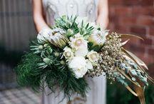 WEDDING BOUQUET INSPIRATION / Wedding bouquet flower inspiration board by Perth Wedding Photographer Kate Drennan Photography