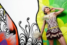 Liberty Peacock / Ph Roberto Roto Model Deborah Parcesepe Styling Hylozoic*A MUA Giulia Petreni Per Gloss Magazine Clothes and accessories from i consigli di Anna, Street Doing Vintage couture, Jenny Firenze and Mazzanti Piume