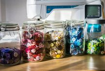 Craft Spaces / Ideas I love from other people's craft spaces