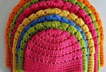 Chapéus de croché