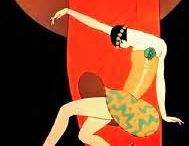 """Women: Art Deco / """"They were smart and sophisticated, with an air of independence about them. I don't know if I realized as I began seeing them that they represented the wave of the future, but I do know I was drawn to them. I shared their restlessness, understood their determination to free themselves of the Victorian shackles of the pre-World War I era and find out for themselves what life was all about.""""  ― Colleen Moore"""