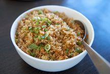 3Gerichte mit anrudern/Reis/Kartoffeln