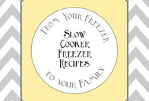 Freezer Cooking / by Michelle Mayall