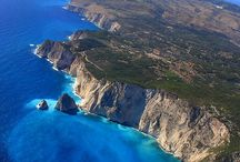 BOOK RESEARCH - One Summer in Zakynthos (Ionian Dreams Series) / Mood board for forthcoming book.