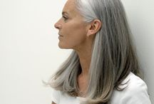 going gray / by Jeannie Thorp