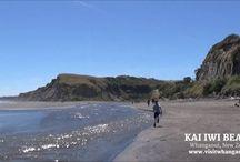 Whanganui Beaches / Beaches of Whanganui, New Zealand