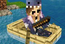 Minecraft / VanillaRosa Selfies on MCPE!!