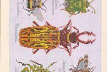 cross stitch - hmyz