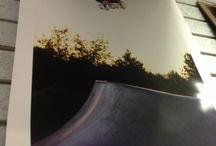 $20 The Skateboard Mag autographed posters  / The skateboard mag posters autographed by the photographers $20 #landslideskatepark
