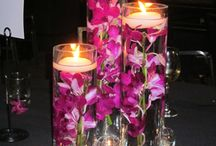 Úszó gyertya Table Centerpieces With Floating Candles